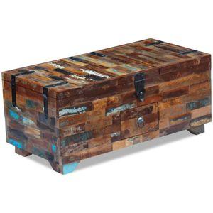 Couchtisch Möbel,Tische,Ziertische,Couchtische Truhe Altholz 80x40x35 cm