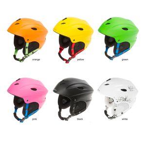 Ventura SKI Skihelm Helm Sporthelm Kinnschutz Ohrenschutz Skibrillenhalter, Farbe:schwarz, Größe:M