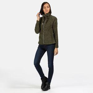 Regatta fleece-Weste Zaylee Damen Polyester khaki