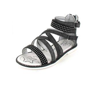 Tom Tailor Mädchen Sandalette in Schwarz, Größe 34