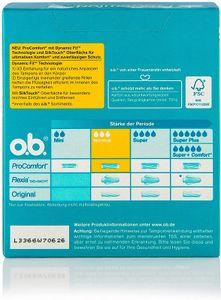 o.b.Tampons Pro Comfort Normal 56 Stück