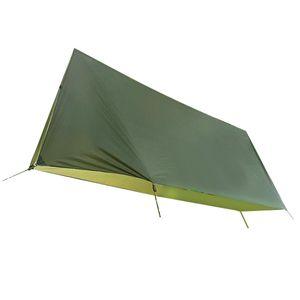 3 - 4 Personen Zeltunterlage Camping Wasserdichte Zeltplane Abdeckplane Schutzplane, grün