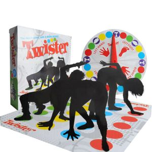 Twister The Classic Family Kid Party Körper / Spiel mit 2 weiteren Moves Toy.