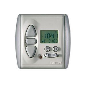Somfy Chronis RTS L Comfort Funk Zeitschaltuhr mit Helligkeitsautomatik Programmschaltuhr