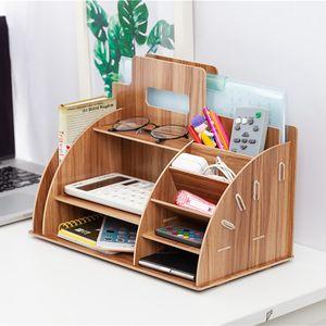 Schreibtisch Organizer Stiftehalter Sortieraufbewahrung Box Schreibtischbox