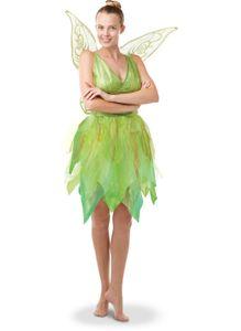 Disney Damen Kostüm Fee Tinkerbell als Elfe Karneval Fasching Gr.M