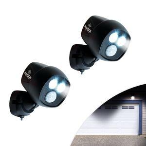 Panta Safe Light 2 Stück Sicherheitslicht Klemmleuchte Multifunktionslicht Bewegungssensor Lichtsensor kabellos Mediashop