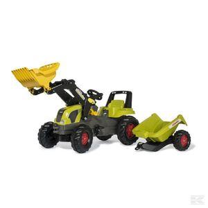 Rolly Toys Claas Traktor mit Frontlader und  Anhänger  81316 RT