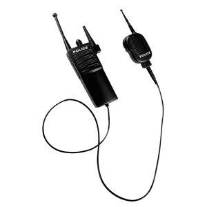 Boland walkie-Talkie Polizei Junior schwarz