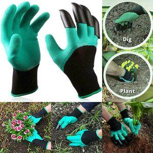 Gartenhandschuhe mit Krallen Genie Gloves Arbeitshandschuhe Handschuhen Garten