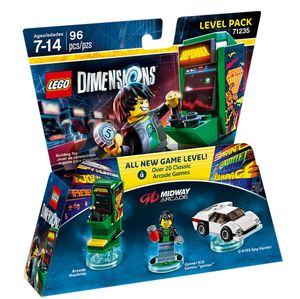 LEGO Dimensions Midway Arcade Level Pack (71235)