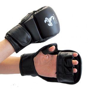 Abverkauf Phoenix MMA Handschutz Budos Finest Leder - Größe: L