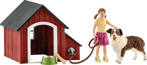 Schleich - Tierfiguren, Hundehütte; 42376