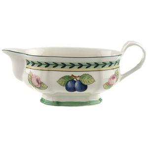 Villeroy & Boch 2 x  Sauciere-Oberteil French Garden Fleurence Vorteilsset 2 x  Art. Nr.  1022813407 und Gratis 1 Trinitae Körperpflegeprodukt