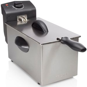 Tristar Edelstahl Kaltzonen-Fritteuse Filter 3 Liter 2000 W FR 6935