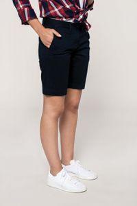 Kariban Chino-Bermuda-Shorts für Damen