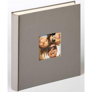 Walther Fun grau 30x30 100 Seiten Buchalbum FA208X FA-208-X