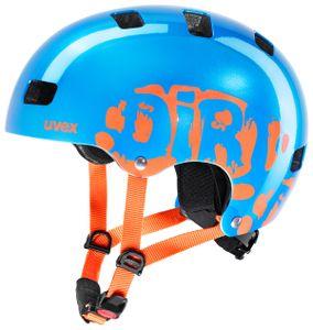 UVEX Kid 3 blue orange 51-55cm XXS-S Kinderfahrradhelm Radhelm Fahrradhelm Scooter Inliner Skateboard