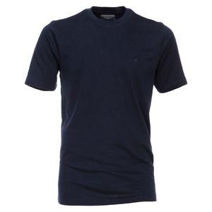 CasaModa Basic T-Shirt dunkelblau Übergröße, Größe:6XL