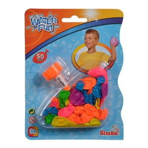 Simba 107792305 - Water Fun - Wasserbomben, 50 Stück