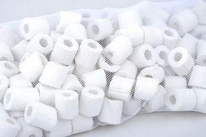 Keramik Ringe Filtermaterial für alle Aquarien und Teich Filter geeignet