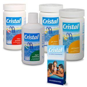 CRISTAL SET Wasserpflege Chlor (5 tlg.)