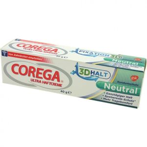 Corega Ultra Haftcreme 40ml ohne Geschmack