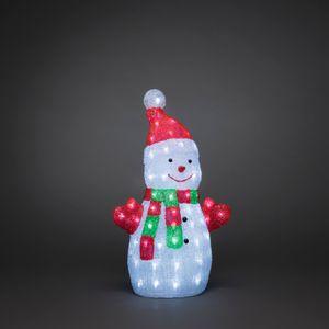 LED Acryl Schneemann, klein