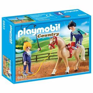 PLAYMOBIL Country Voltigieren Team - Pferd (6933)