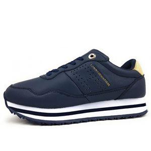 Tommy Hilfiger Lifestyle Runner Navy Sneakers Für Damen