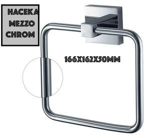 HACEKA / Mezzo Chrom Handtuchhalter Handtuchring Edelstahl ,Glänzend