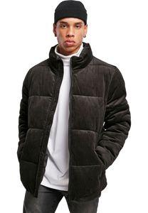 Urban Classics TB3811  Boxy Corduroy Puffer Jacke, Größe:XL, Farbe:Black