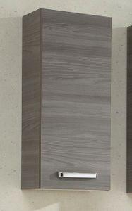 Badezimmer Hängeschrank in Sangallo grau quer Soltau 30 x 70 cm Badschrank