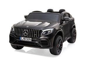 Mercedes GLC63S Kinderfahrzeug Elektrofahrzeug Ledersitz Softreifen Allrad 4x35W 12V 10Ah 2-Sitzer