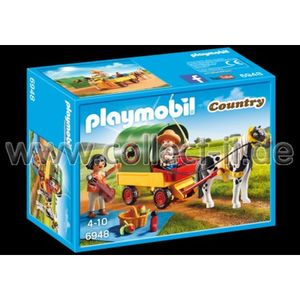 PLAYMOBIL 6948 Country - Ausflug mit Ponywagen