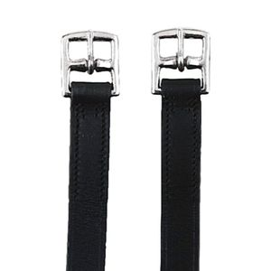 1 Paar Steigbügelriemen Länge 145 cm Breite 27mm schwarz