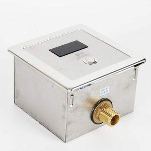 Automatischer Urinal, Infrarot Sensor Spülventil Druckspüler Urinalbecken Ventil Flush Valve, Urinal Induktive Toilettenspülun