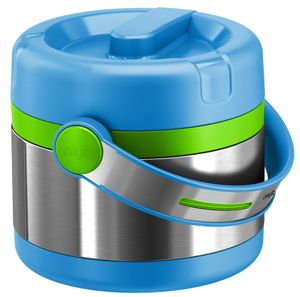 emsa Isolier Speisegefäß MOBILITY KIDS 0,65 Liter blau / grün
