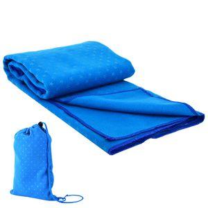 Yogamattenbezug Atmungsaktiv Rutschfestes Yoga-Handtuch Feuchtigkeitsableitende Yoga-Handtuchmatte