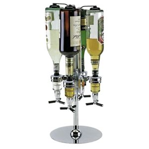 4x Getränkespender Flaschenhalter Barbutler Getränkehalter Bar Butler Halterung
