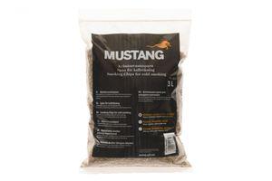Grillpaul Mustang Räuchermehl Mesquite   Körnung 0,4 -1 mm   Räucherspäne   Räucherchips   3 Liter Sack   955g