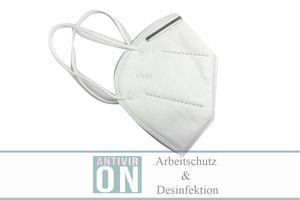 Antiviron KN95 Atemschutzmaske 50 Stück FFP2 Farbe weiss