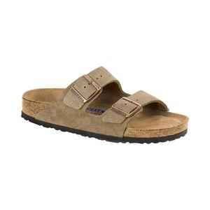 BIRKENSTOCK Arizona Herren klassische Sandale Beige Schuhe, Größe:39