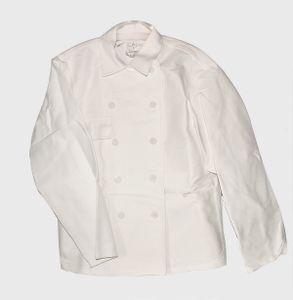SANFOR Rensing Bundjacke weiß Arbeitsjacke Berufsjacke Jacke Herrenjacke Koch , Größe:114