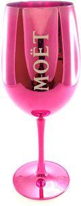 Moet & Chandon Imperial Champagner Echtglas Ibiza (Rosé) Pink Glas Champagnerglas