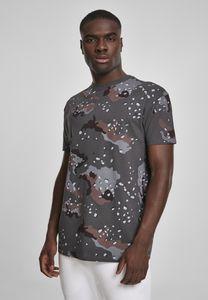 Urban Classics Herren T-Shirt Oversized Camo Tee TB3180 Darkdesert Camo L
