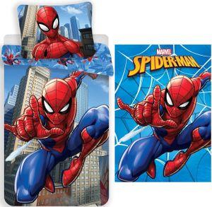 Marvel´s Spiderman - Bettwäsche-Set, 135x200 und Fleecedecke, 120x140