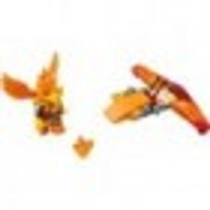 LEGO 30264 Frax' Phoenix Flyer Polybag  LEGO Anzahl Anleitungen: 1, Anzahl Minifiguren: 1, Anzahl Teile: 22, Altersberatung: 6+, Veröffentlicht in: 2014, Gewicht: 0.023 KG, Thema: LEGO Legends of Chima, Zahl: 30264-1, Verpackungsmaße (lxbxh): 13.5 x 16 x 1 cm, EAN: 5702015154918