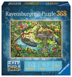 RAVENSBURGER Kinderpuzzle EXIT Puzzle Kids Die Dschungelexpedition 368 Teile