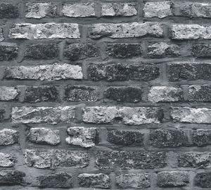 A.S. Création Steintapete Elements Tapete in Backstein Optik Vliestapete grau schwarz 10,05 m x 0,53 m